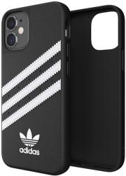 ADIDAS MOULDED BACK COVER CASE FOR IPHONE 12 MINI BLACK WHITE