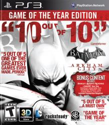 Batman Arkham City Game Of The Year Edition (PS3)