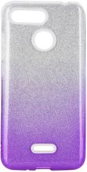 FORCELL SHINING BACK COVER CASE FOR IPHONE 12 / 12 PRO CLEAR/VIOLET