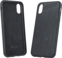FOREVER PRIME LEATHER BACK COVER CASE FOR APPLE IPHONE 6 BLACK