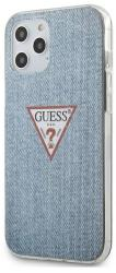 GUESS IPHONE 12 MINI 5,4 GUHCP12SPCUJULLB LIGHT BLUE HARD BACK COVER CASE TRIANGLE COLLECTION