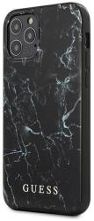 GUESS IPHONE 12 MINI 5,4 GUHCP12SPCUMABK BLACK HARD BACK COVER CASE MARBLE