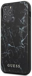 GUESS IPHONE 12 PRO MAX 6,7 GUHCP12LPCUMABK BLACK HARD BACK COVER CASE MARBLE