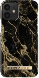 IDEAL OF SWEDEN BACK COVER CASE FOR IPHONE 12 MINI GOLDEN SMOKE MARBLE