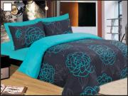 Le Blanc Σετ Πάπλωμα Μονό Night Lotus Turquoise - Le Blanc - night-lotus-turquoise-pap1
