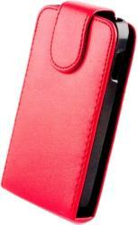 LEATHER CASE FOR IPHONE 5/5S RED