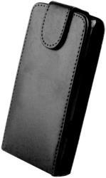 LEATHER CASE FOR NOKIA 206 ASHA BLACK