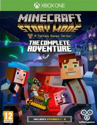 Minecraft Story Mode A Telltale Games Series The Complete Adventure (XBOX One)