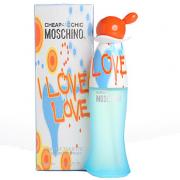 Moschino I love love Eau de Toilette 100ml
