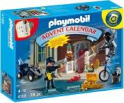 PLAYMOBIL 4168 ADVENT CALENDAR POLICE WITH COOL ADDITIONAL SURPRISES-ΧΡΙΣΤΟΥΓΕΝΝΙΑΤΙΚΟ ΗΜΕΡΟΛΟΓΙΟ