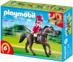 PLAYMOBIL 5112 RACE HORSE WITH STALL-ΑΡΑΒΙΚΟ ΑΛΟΓΟ
