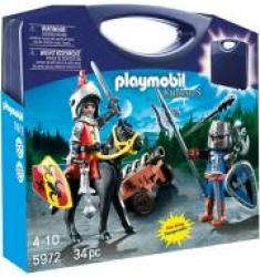 PLAYMOBIL 5972 CARRYING CASE KNIGHTS