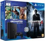 Sony PlayStation 4 Slim D Chassis 1TB & Uncharted The Nathan Drake Collection & Uncharted 4 A Thief`s End (PS4)