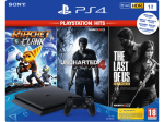 Sony PlayStation 4 Slim E Chassis 1TB & Ratchet and Clank & The Last of Us Remastered & Uncharted 4