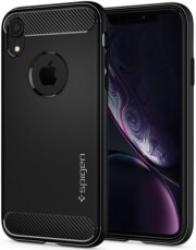 SPIGEN RUGGED ARMOR BACK COVER CASE FOR APPLE IPHONE XR MATTE BLACK