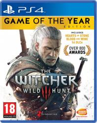 The Witcher III Wild Hunt Game of the Year Edition (PS4)