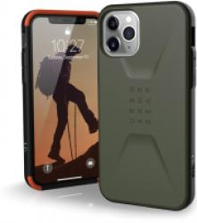 UAG URBAN ARMOR GEAR CIVILIAN BACK COVER CASE FOR APPLE IPHONE 11 PRO OLIVE DRAB